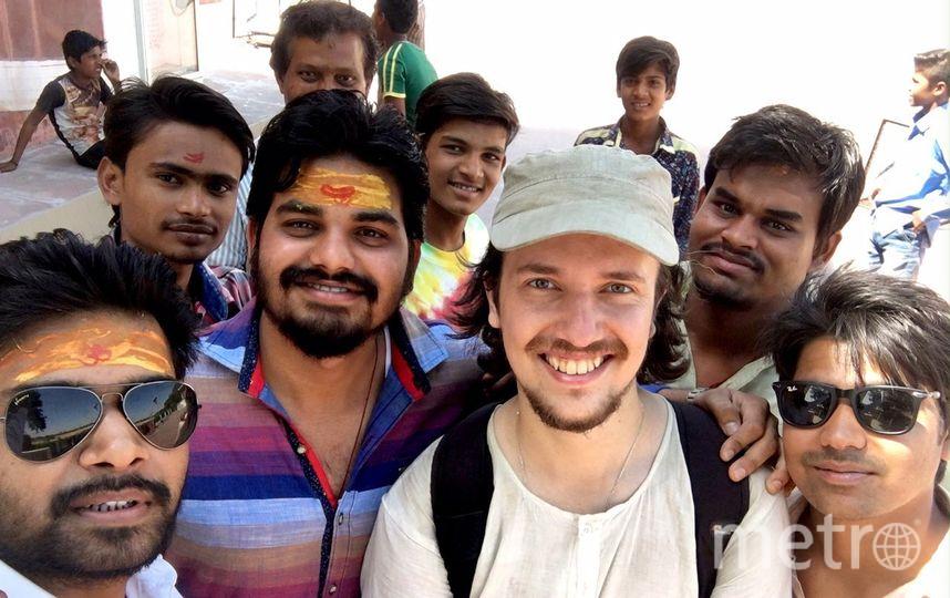 Фото Антона из Индии. Фото vk.com