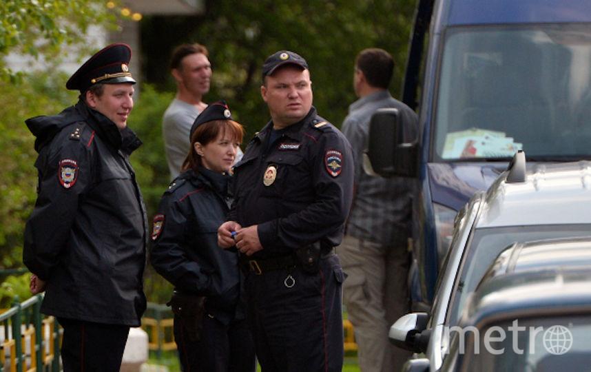 Столичная полиция (архивное фото). Фото РИА Новости