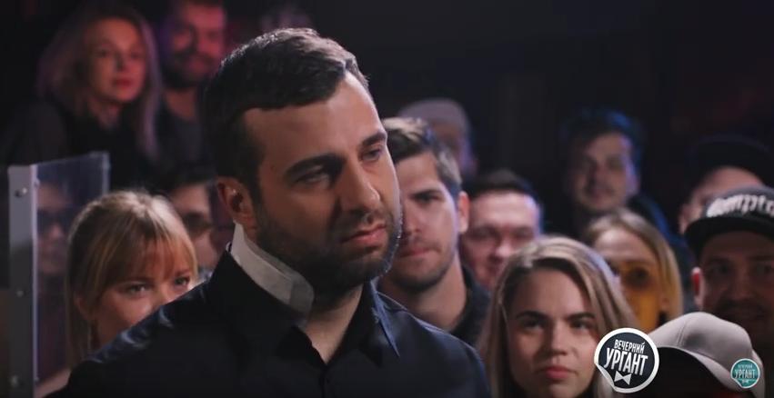 Видео с Versus Battle Урганта и Шнурова взорвало Сеть. Фото Скриншот Youtube