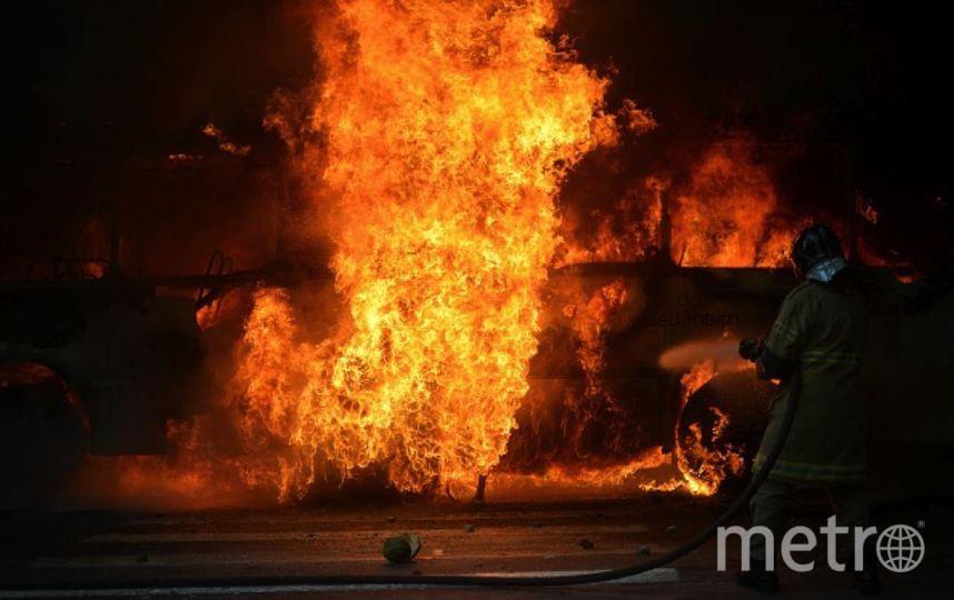 В Пакистане из-за возгорания цистерны с топливом пострадал 141 человек. Фото Getty