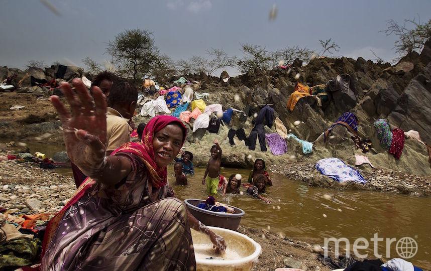 Холера погубила не менее 370 детей в Йемене. Фото Getty