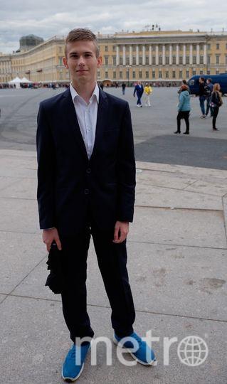 Алексей Барчанов, выпускник - 2017. Фото все - Алена Бобрович.
