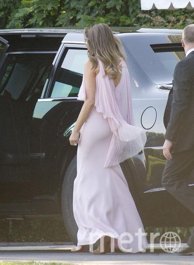 Мелания Трамп приковала к себе внимание на свадьбе министра финансов США. Фото Getty