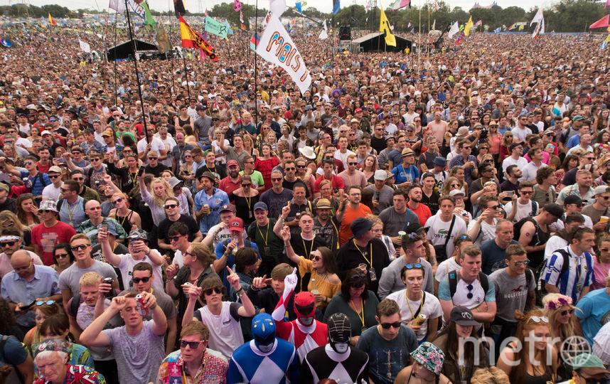 Фестиваль в Гластонбери. Фото Getty
