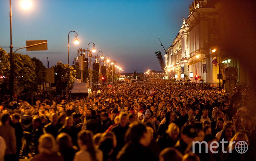 "Алые паруса. Фото Святослав Акимов, ""Metro"""