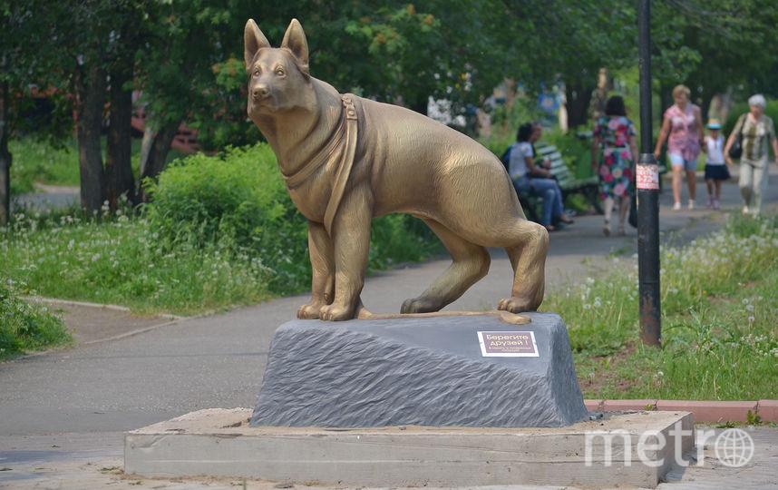 Фото с памятником. Фото предоставил Эдуард Романов.