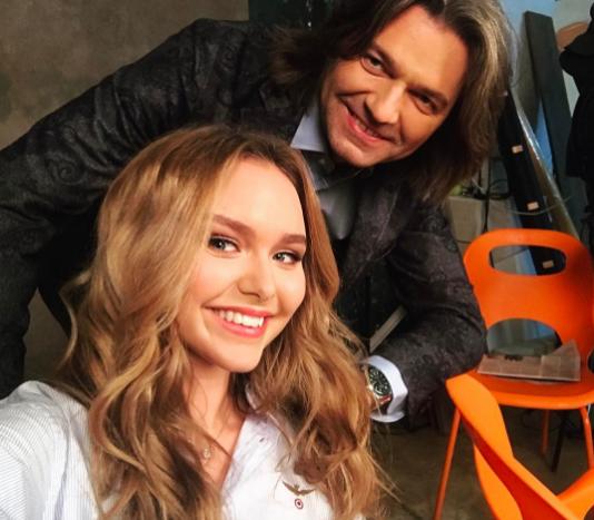 Дмитрий Маликов с дочерью Стефанией. Фото Instagram Стефании Маликовой.
