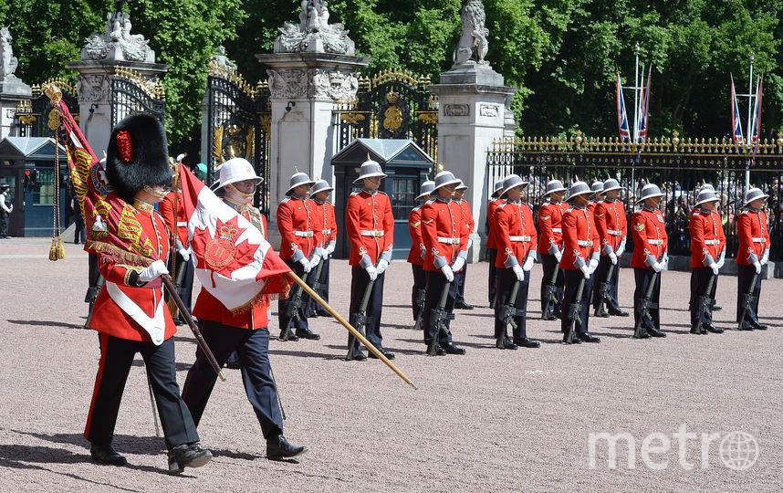 Смена караула возле Букингемского дворца. Фото Getty
