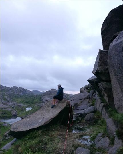 Пенис тролля в Норвегии. Фото Instagram/hannafskjaak