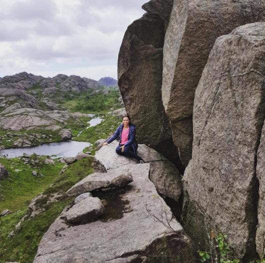 Пенис тролля в Норвегии. Фото Instagram/anettes_home_