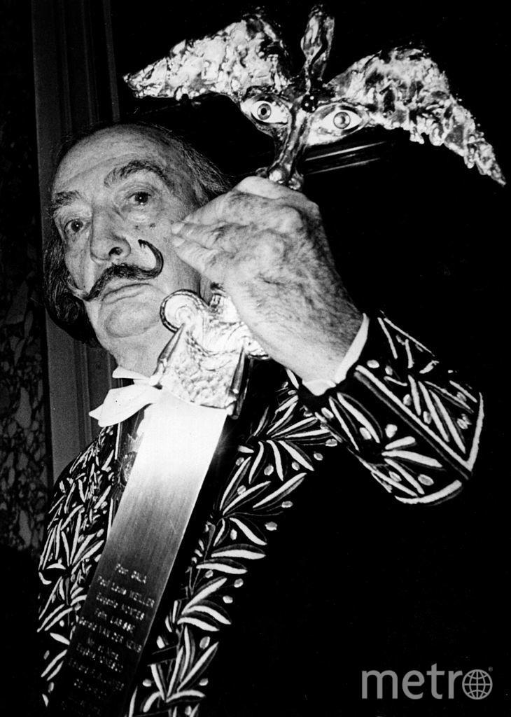 Сальвадор Дали, сюрреалист. Фото Getty