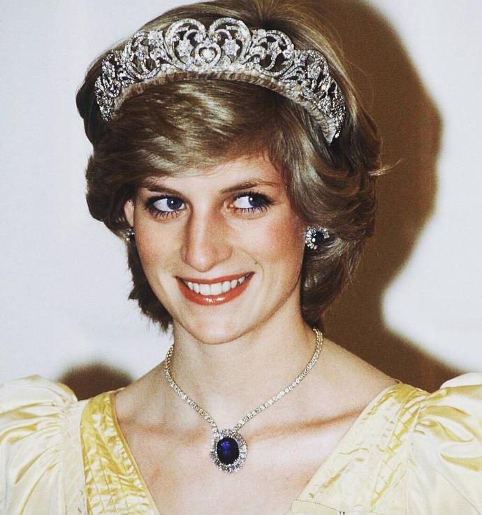Принцесса Диана - фотоархив семьи.
