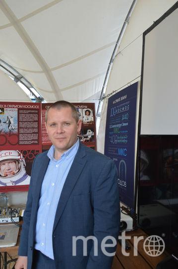 Олег Блинов, космонавт-испытатель. Фото Софья Сажнева.