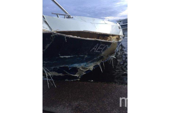 Катер получил серьёзные повреждения носовой части | cеверо-западная транспортная прокуратура.