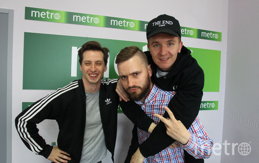 """""""ХЛЕБ"""" в Metro. Фото Василий Кузьмичёнок"""