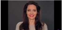 Анджелина Джоли обратилась с проникновенной речью к детям