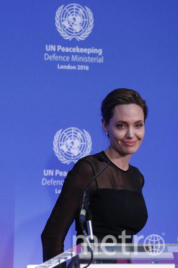 Джоли является послом доброй воли ООН. Фото Getty