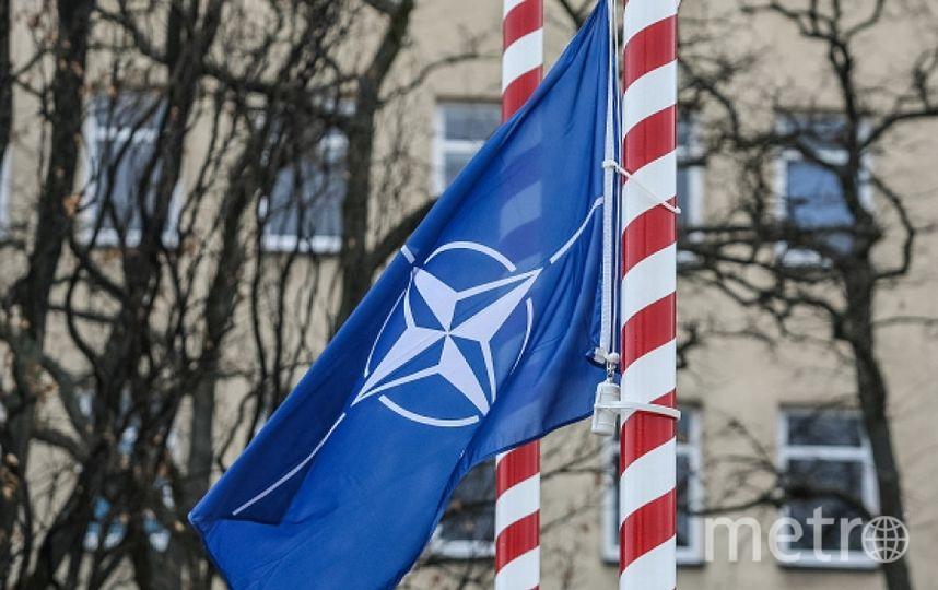 Флаг НАТО. Фото Getty