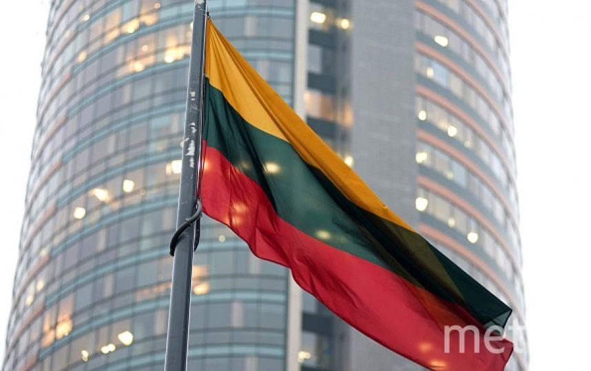 Флаг Литвы. Фото Getty