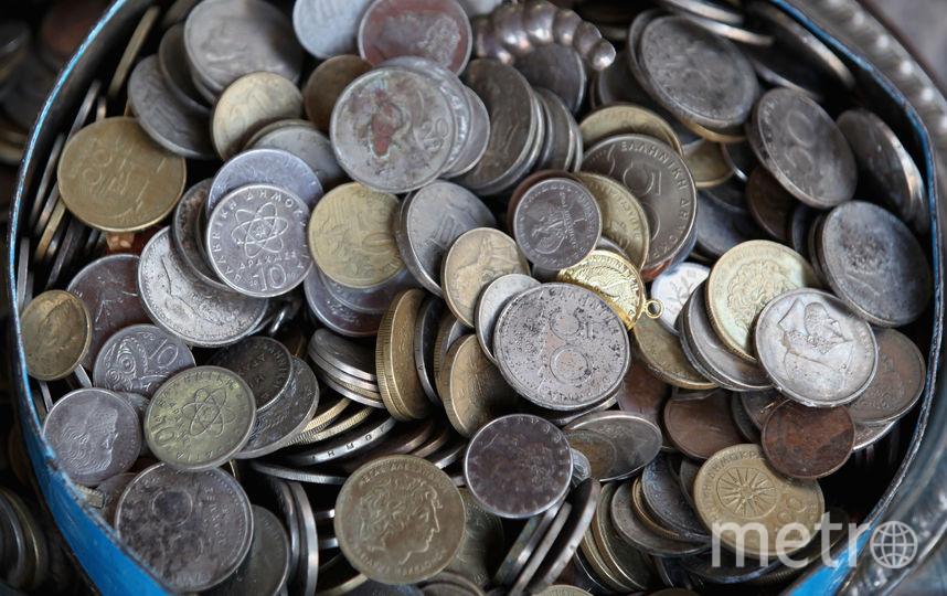Старинные монеты. Фото Getty