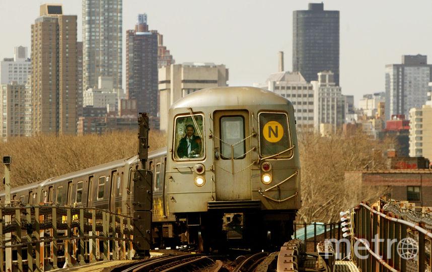 Метро Нью-Йорка. Фото Getty