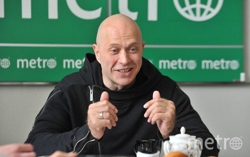 Сергей Дружко в гостях у газеты Metro.