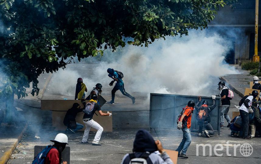 Протесты в Венесуэле. Фото AFP