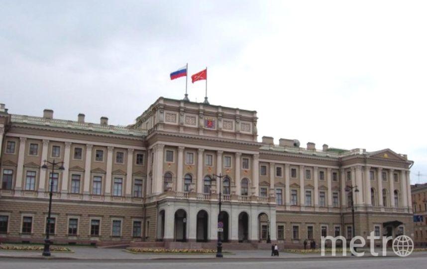 В Мариинском дворце - последнее заседание ЗакСа перед каникулами.