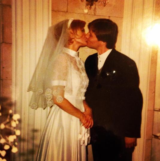 Свадебное фото Юлии Меньшовой и Игоря Гордина. Фото Instagram Юлии Меньшовой