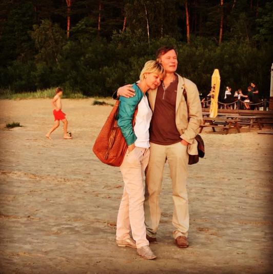 Юлия Меньшова с мужем Игорем Гординым. Фото Instagram Юлии Меньшовой
