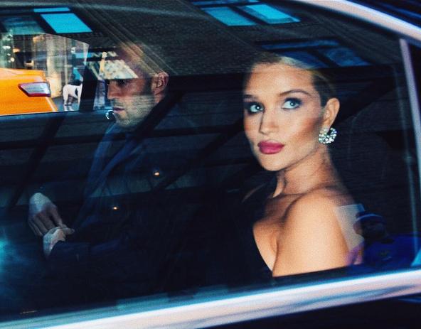 Джейсон Стейтем и Рози Хантингтон-Уайтли. Фото instagram Рози.