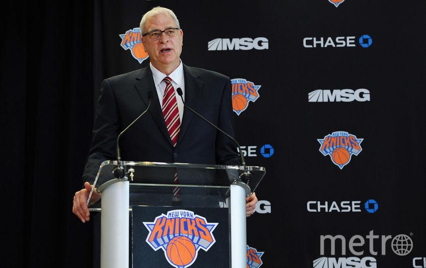 Баскетбольный специалист Фил Джексон. Фото Getty