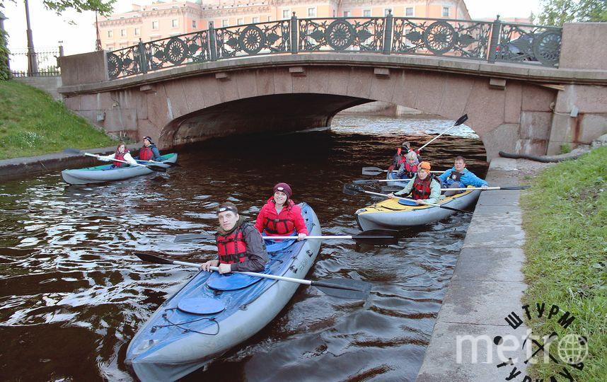 Поплавать на байдарках можно в историческом центре Петербурга | фото предоставлено организаторами.