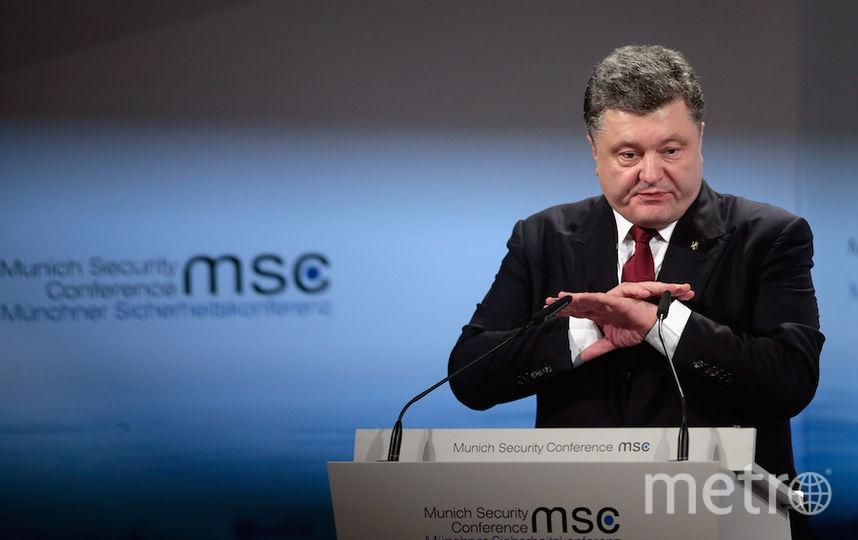 Пётр Порошенко, президент Украины. Фото Getty