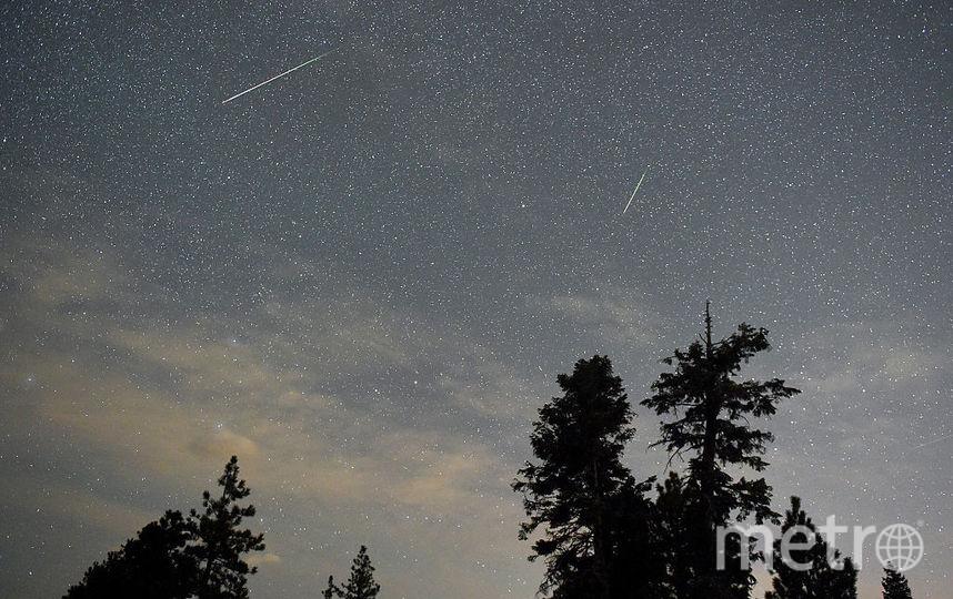 В июле москвичи увидят звёздный дождь. Фото Getty