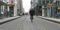 В центре Берлина столкнулись два трамвая