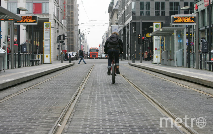 Трамвайные пути, Берлин. Фото Getty