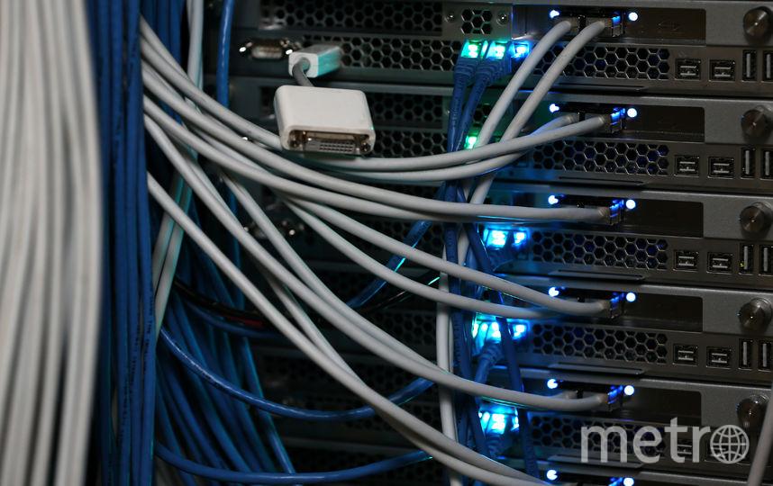 Сервер. Фото Getty