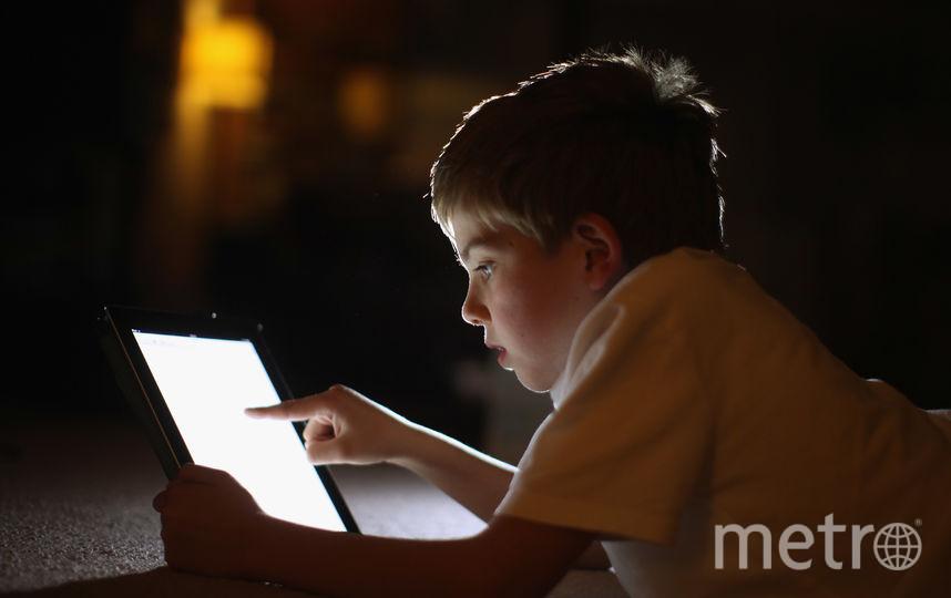 Все дети увлечены гаджетами. Фото Getty