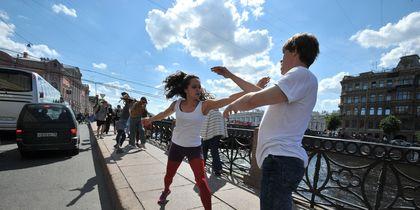 В Петербурге открылся XIX фестиваль современного танца OPEN LOOK. Фото В Петербурге открылся XIX фестиваль современного танца OPEN LOOK.