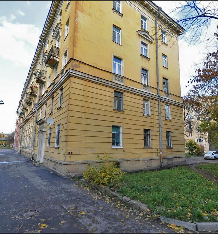 Дом на Обуховской обороны, где случилась беда. Фото яндекс.карты