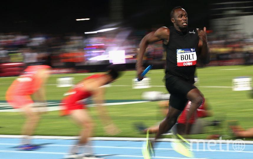 Восьмикратныйолимпийский чемпион, ямайский спринтер Усэйн Болт. Фото Getty
