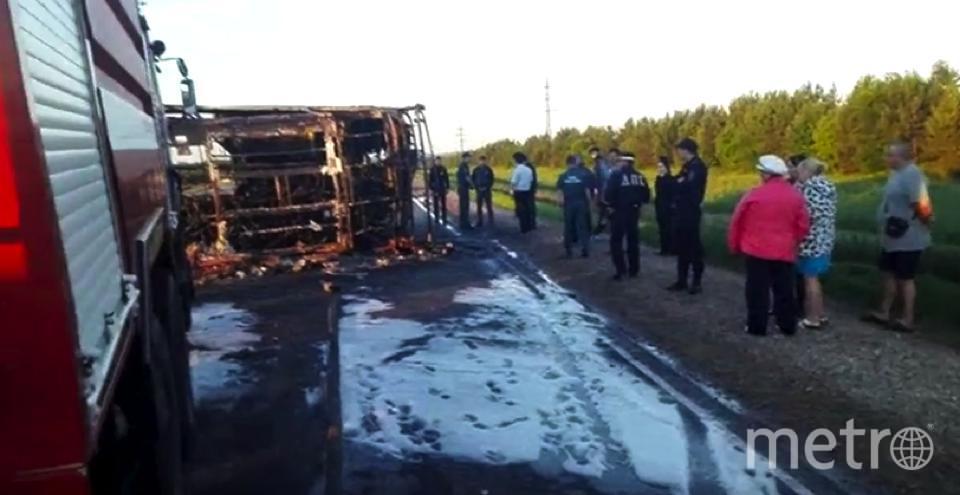 ДТП в Татарстане: погибло 13 человек, 8 извлечены из автобуса.