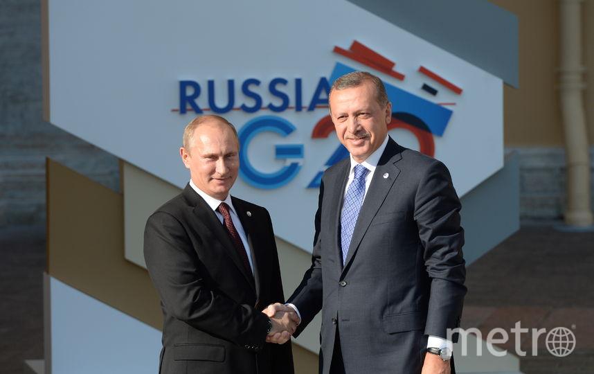 Владимир Путин и Реджеп Эрдоган. Фото Getty