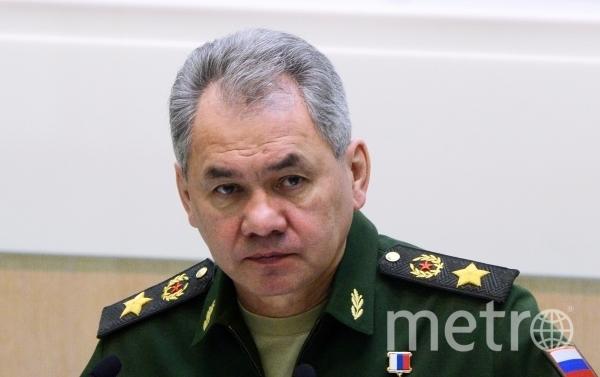 Министр обороны РФ Сергей Шойгу. Фото РИА Новости