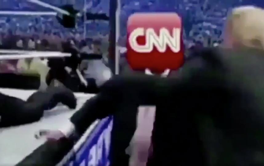 Трамп'избивает CNN