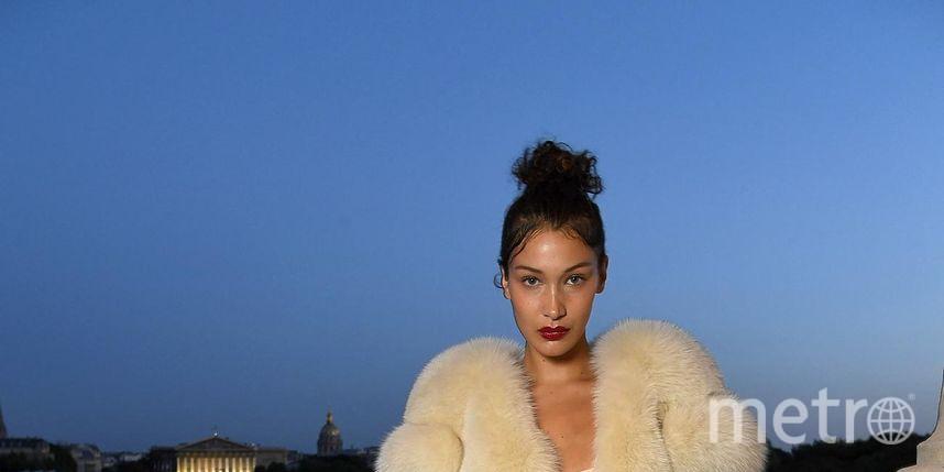 Звёзды на Неделе высокой моды в Париже. Белла Хадид. Фото Getty