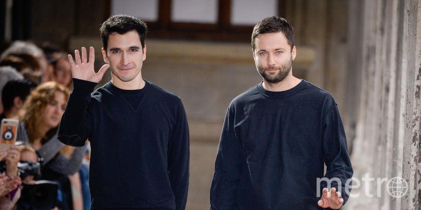 дизайнеры Джек Макалоу и Лазаро Эрнандес из Нью-Йорка. Фото Getty