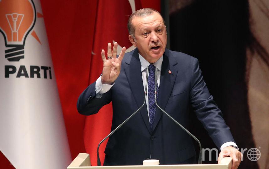 Реджеп Тайип Эрдоган. Фото AFP