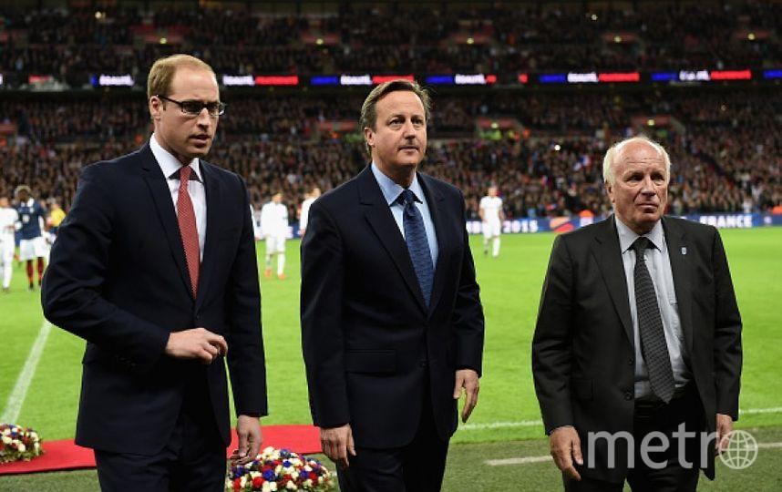 Принц Уильям и Дэвид Кэмерон. Фото Getty